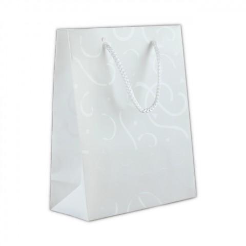 AU770c Beyaz PVC Promosyon Kuyumcu Çantası 50 Adet