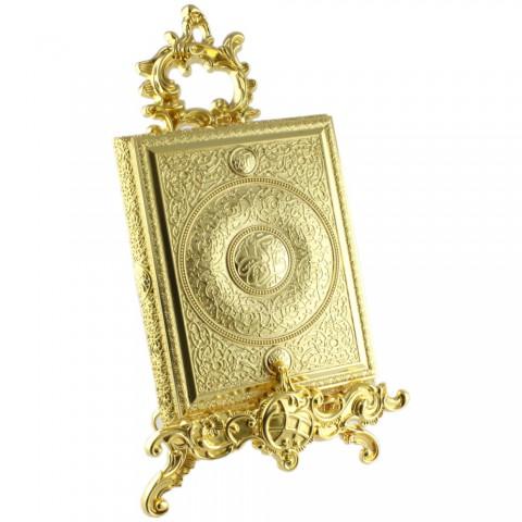 Altın renkli Kur'an-ı Kerim Kutusu Küçük Boy