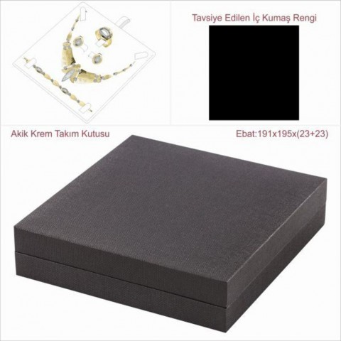 Astarya Siyah 20x20 Takım Kutusu