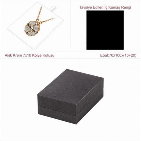 Astarya Siyah 7x10 Kolye Kutusu