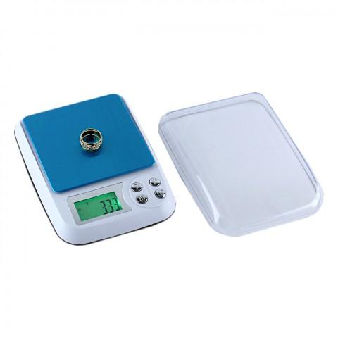 Dijital Hassas Kuyumcu Cep Terazisi Tartı 500 gr Digital Scale 0,01 Hassasiyet
