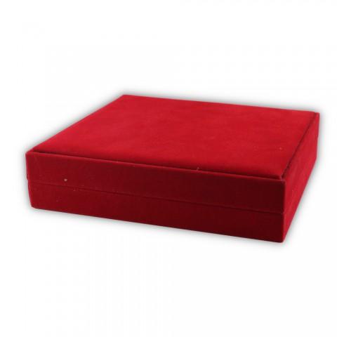 Dikişli Set Kutusu Kırmızı