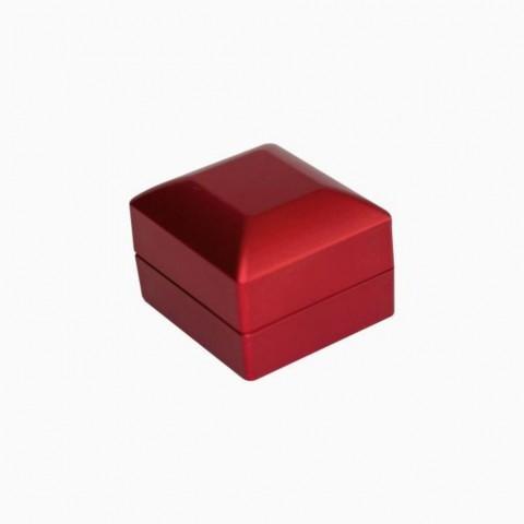 Işıklı Yüzük Kutusu -Kırmızı
