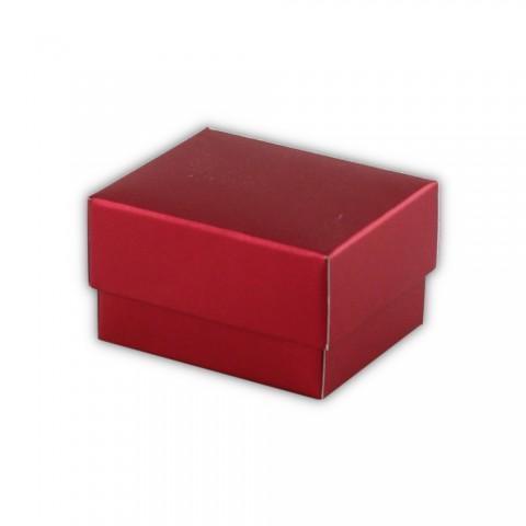 Katlamalı Küpe Kutusu Kırmızı 50 Adet