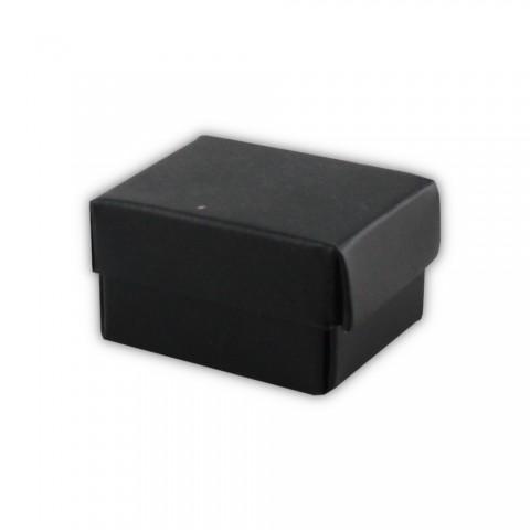 Katlamalı Küpe Kutusu Siyah 50 Adet