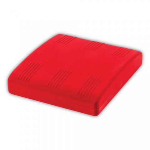 Kadife Kırmızı Bombeli Takım Kutusu