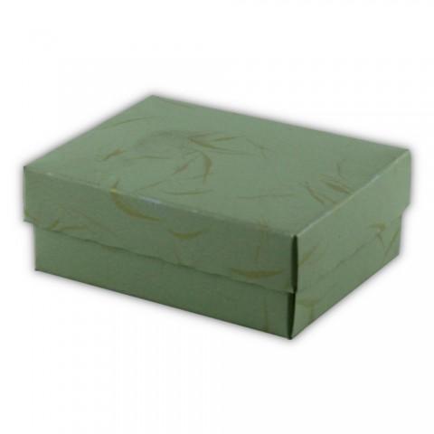 Katlamalı Kolye Kutusu Yeşil 50 Adet