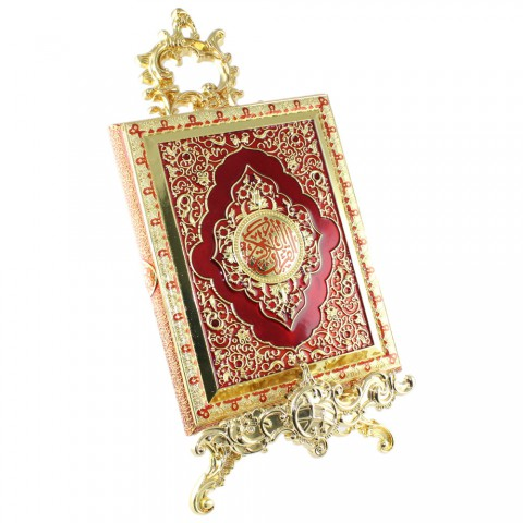 Kırmızı Kur'an-ı Kerim Kutusu Büyük Boy
