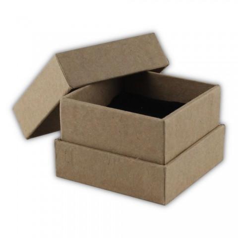 Kraft Karton Yüzük Kutusu 24 Adet