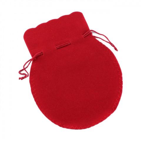 Süet Kese Oval No:5 100 Adet Kırmızı