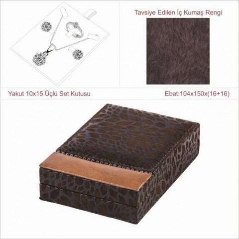 Yakut 10x15 Üçlü Set Kutusu