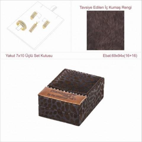 Yakut 7x10 Üçlü Set Kutusu
